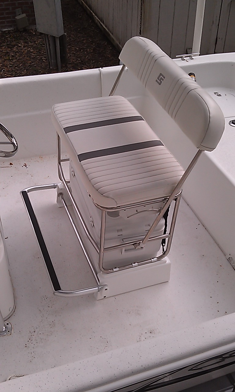 Carolina Skiff Cooler Seat Kit For Stainless Swingback Seat